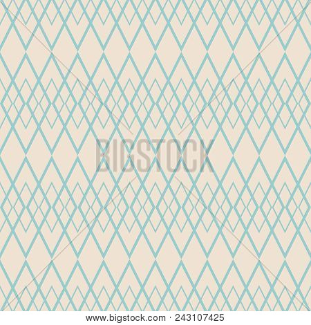 Tile Vector Pattern With Green Pattern On Grey Background