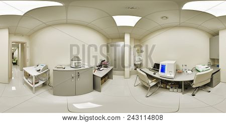 Laboratory For Conducting Medical Research Of Preparations Of Crocks And Anadise Of Blood Samples In