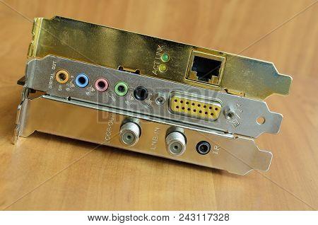 Computer Expansion Card, Dvb Card, Sound Card, Network Card