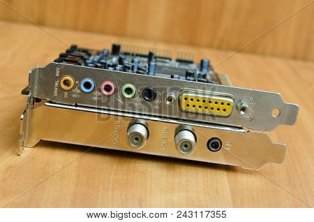 Computer Expansion Card, Sound Card, Network Card