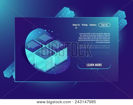 Server Room, Vector & Photo (Free Trial) | Bigstock
