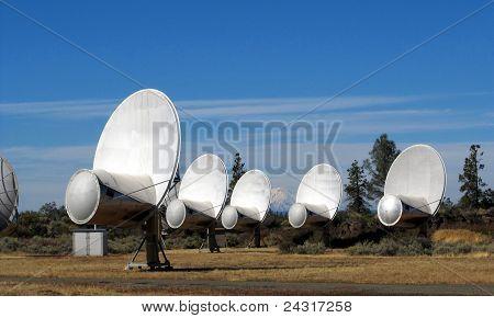 Hat Creek Allen Telescope Array radio-telescope