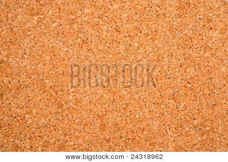 Foto der Textur eines leeren Kork-Boards