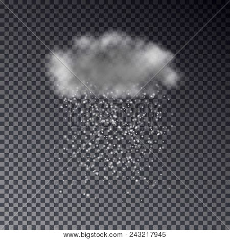 Realistic Dark Cloud Vector & Photo (Free Trial) | Bigstock
