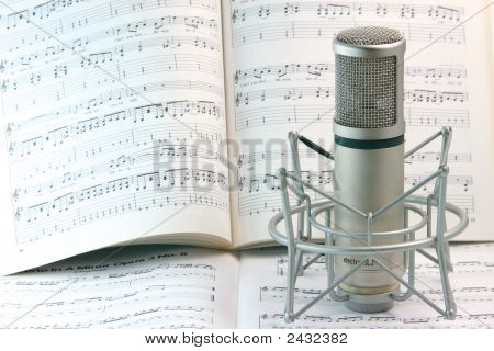 Notes And Microphone