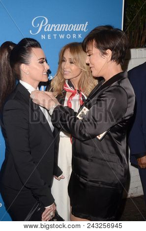 LOS ANGELES - MAY 31:  Kyle Richards, Faye Resnick, Kris Jenner at the