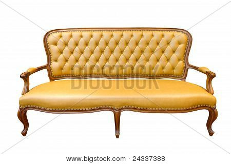 Brown Luxury Sofa