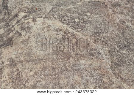 Yellow Sand Stone Texture Photo. Natural Stone Background. Weathered Rock Relief. Old Building Stone
