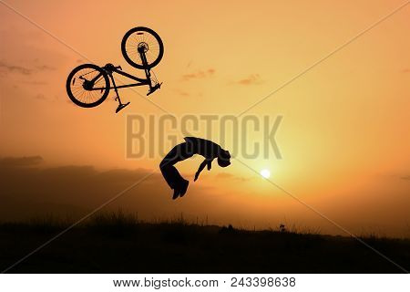 Bicycle Crash, Careless And Fast Rides ;crazy Biker
