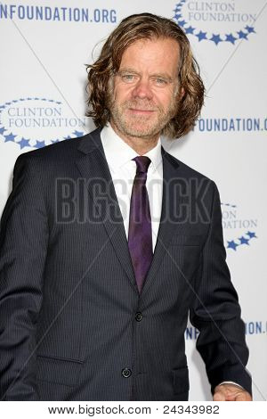""".LOS ANGELES - OCT 14:  William H. Macy arriving at the Clinton Foundation """"Decade of Difference"""" Gala at the Hollywood Palladium on October 14, 2011 in Los Angelees, CA"""