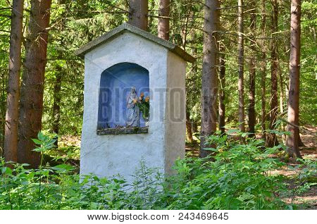 View Of Historical Religious Monument. South Bohemia, Czech Republic