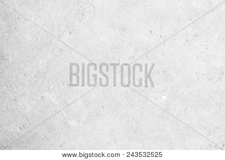 Modern Grey Paint Limestone Texture Background In White Light Seam Home Wall Paper. Back Flat Subway