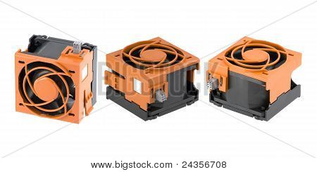 Cooling Fans In Protection Cage