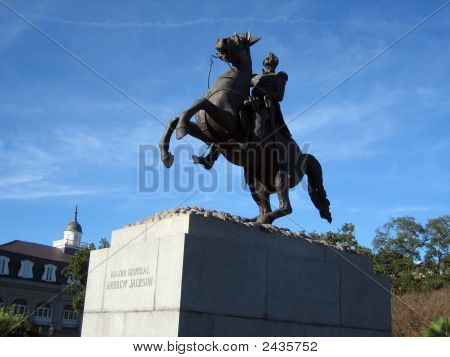 General Andrew Jackson Statue