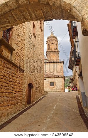 Church Of La Purificacion, La Iglesuela Del Cid, Maestrazgo, Teruel Province, Aragon, Spain