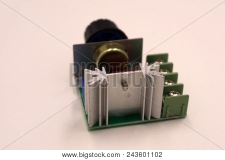 Dimmer Switch And Light Switch On Switchboard