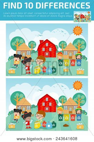 Find Differences,game For Kids ,find Differences,brain Games, Children Game, Educational Game For Pr
