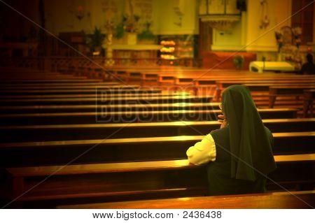 Praying Sister