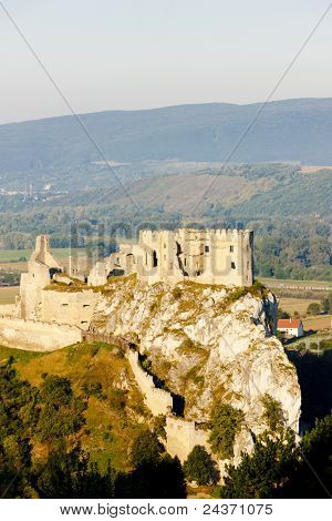 ruins of Beckov Castle, Slovakia poster
