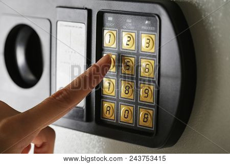 Safe Lock Code Password Pad Number Protection Safety Box Bank.