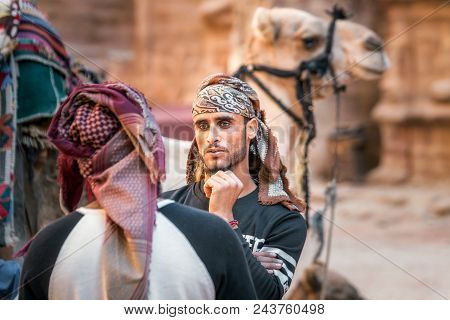 Bedouins Of Petra