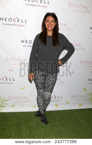 LOS ANGELES - JUN 2:  Angelique Cabral at the Bloom Summit at Beverly Hilton Hotel on June 2, 2018 in Beverly Hills, CA
