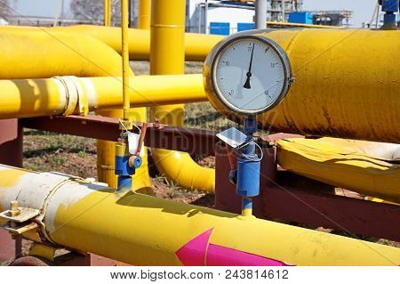 Gas Industry, Emergency Condition Gas Transmission System. Old Communications, Shut-off Valves And I