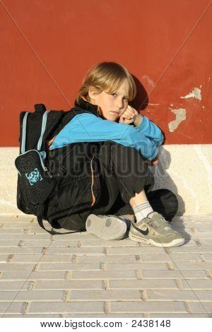 Sad Lonely Child