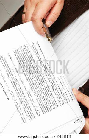 Reading Agreement