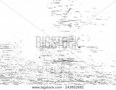 Vector Wood Texture. Abstract Background, Old Wooden Panel. Overlay Illustration Over Any Design To