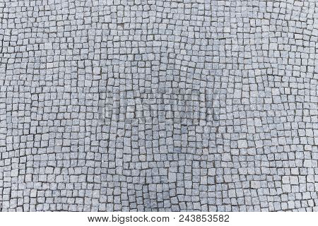 Old Natural Cobblestones Floor Pavement  For Walkway Very Resistant