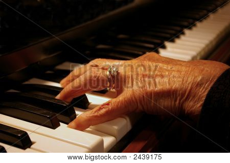 Grandma Plays The Piano