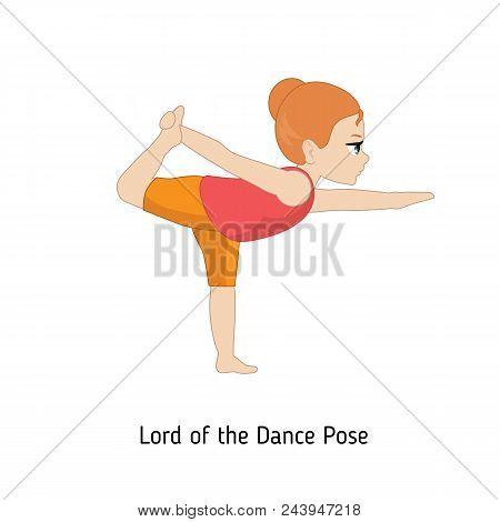 Child Doing Yoga.