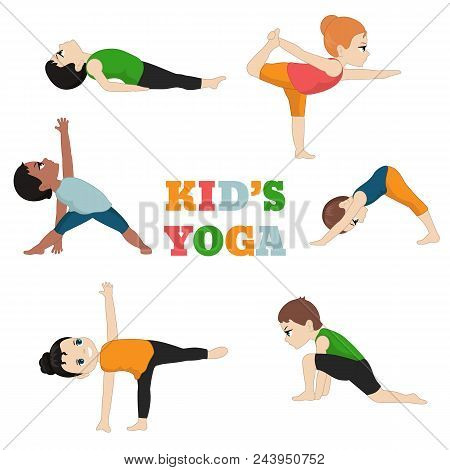 Kids Doing Yoga.