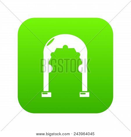 Archway Vintage Icon. Simple Illustration Of Archway Vintage Vector Icon For Web