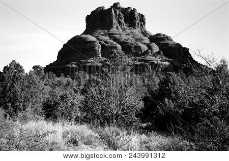 Bell Rock Of Sedona Arizona In The Morning Light