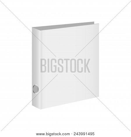 Blank Book Cover, Binder Or Folder Templates. Vector Illustration