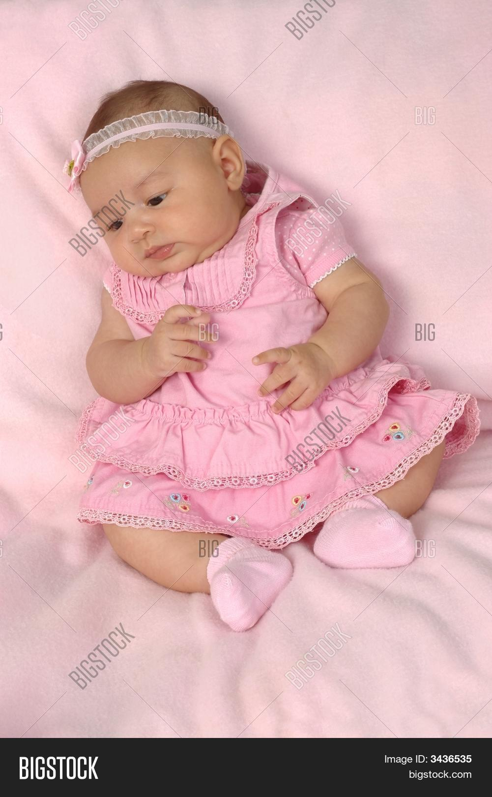 ef1232333 Cute 3-Month-Old Baby Image   Photo (Free Trial)