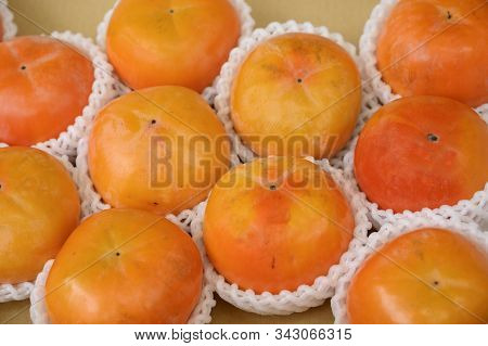 Persimmon, A Fruit That Is In Many Combinations