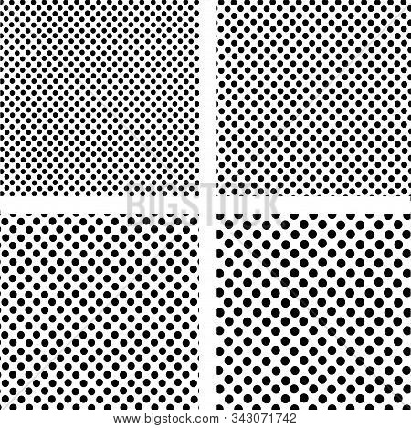 Halftone Vector Background. Halftone Texture Vector.	Halftone Vector Set