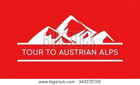 Tour To Austrian Alps, Logo Of Austrian Mountains