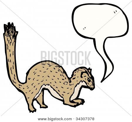 stoat illustration