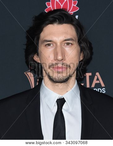 LOS ANGELES - JAN 03:  Adam Driver arrives for the AACTA International Awards 2020 on January 03, 2020 in West Hollywood, CA