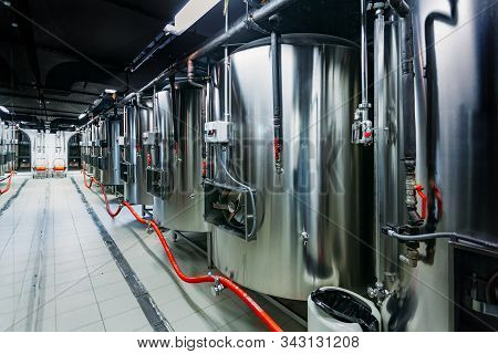 Craft Beer Production Line In Private Microbrewery