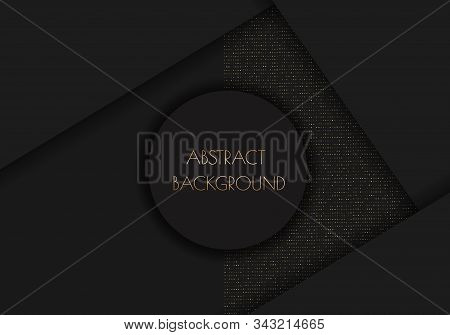 Background. Background Of Gradient Smooth Background Texture On Elegant Rich Luxury Background Web Template Or Website Abstract Background Gradient Or Textured Background  Paper. Vector background EPS10. Luxurious invitation. Golden ribbon banner on a blu