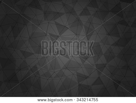 Geometric pattern, triangles vector background in black and gray tones. vector illustration. Background. Background Of Gradient Smooth Background Texture On Elegant Rich Luxury Background Web Template Or Website Abstract Background Gradient Or Textured Ba