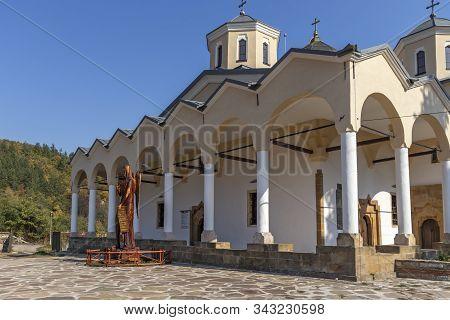 Lopushanski Monastery, Bulgaria - October 19, 2019: Medieval Lopushanski Monastery Of Saint John The
