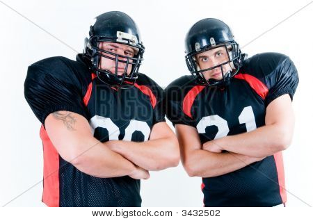 Two American Football Players