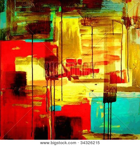 abstract hand draw acrylic painting composition, background for your design poster