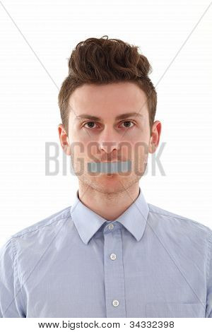 Portrait Of Young Man Censored